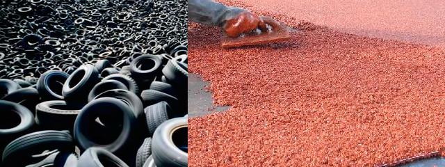 утилизация автомобильных покрышек и производство резиновой крошки и плитки бизнес-план