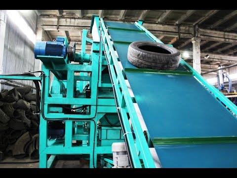 переработка автомобильных покрышек и производство резиновой крошки и резиновой плитки